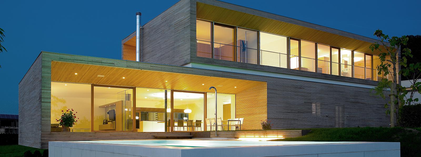 Alpina haus individuelle holzh user aus sterreich for Wohncontainer fertighaus