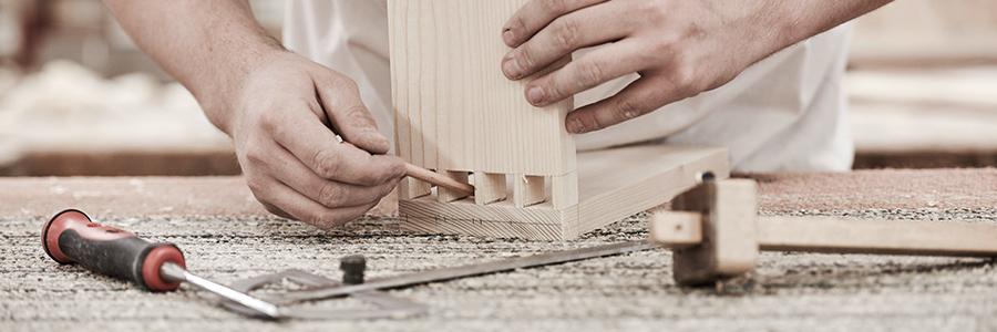 detail arbeit am zimmermeisterhaus